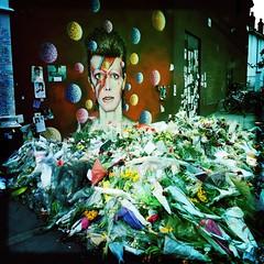 (JonCC) Tags: flowers david bowie tribute brixton