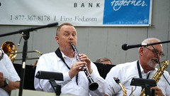 Concert in the Park - Swingmania (rachel121634) Tags: park ohio summer music concert swing bowlinggreen woodwind clarinet bigband citypark woodcounty swingmainia