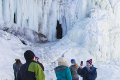 IMG_4091-1_1 (Domini Brown) Tags: park people ice minnesota portraits wonder outside outdoors togetherness climb frozen waterfall state north minneapolis falls adventure explore kindness candids minnehaha