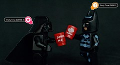 Party Time... !  (Damien Saint-) Tags: toy lego plastic batman darkvador minifigures