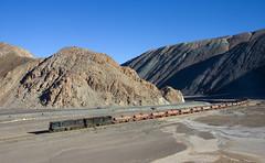 A bunch of empties (david_gubler) Tags: chile train railway llanta potrerillos ferronor