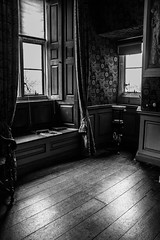 """Dunster Castle in Black and white • <a style=""""font-size:0.8em;"""" href=""""http://www.flickr.com/photos/32236014@N07/25627210256/"""" target=""""_blank"""">View on Flickr</a>"""