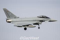 LUFTWAFFE EUROFIGHTER 2000S 30+50 (Gaz West) Tags: interesting explore eurofighter 2000s luftwaffe 3050