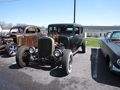 Cadillac Rat Rod (Speeder1) Tags: show street cruise two hot classic ford chevrolet car bar rat pennsylvania muscle pa lane tavern rod 55 goons aces willys gasket blacktop eights birdsboro blackjax