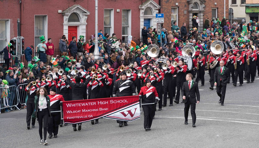 WHITEWATER HIGH SCHOOL WILDCAT MARCHING BAND [PATRICK'S DAY 2016]-112482