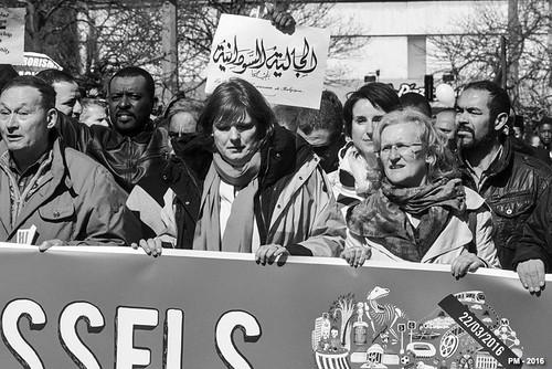 marche pour la paix – Bruxelles