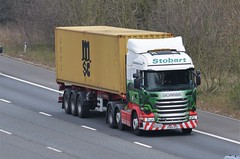 Eddie Stobart 'Kenya' (stavioni) Tags: truck reading kenya lorry eddie trailer lower m4 scania esl earley stobart r450 h2040 po64vpz