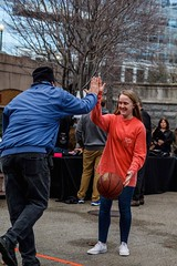 High five from WaterFire director of operations, PK