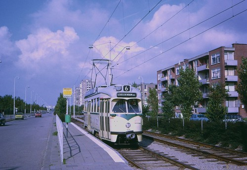 HTM PCC car 1135 at Berestein in 1974