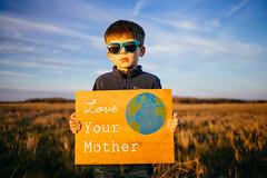 Happy Earth Day! (reclaimednj) Tags: portrait reed sign us newjersey unitedstates saltmarsh earthday 2016 kodake200 tuckerton reclaimedwood vsco bassrivertownship