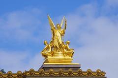 Paris Avril 2016 - 168 sur le toit de l'Opra Garnier (paspog) Tags: paris france spring roofs april opra avril printemps toits 2016 decken opragarnier toitsdeparis frling