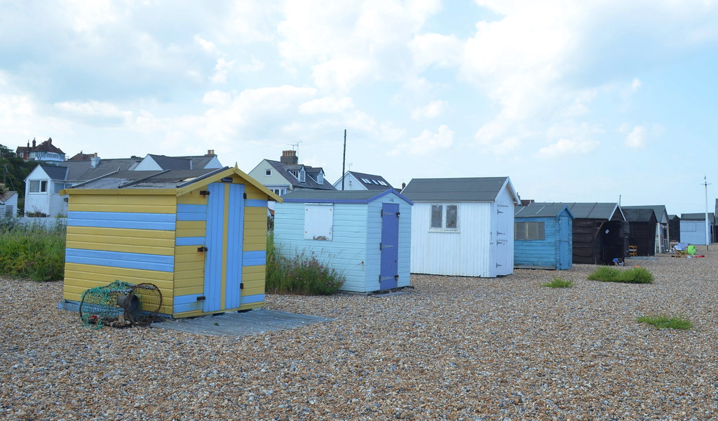 Beach Huts, Kingsdown, Kent