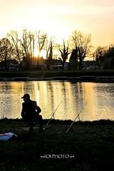 ...and sun get down (malioli) Tags: water canon river photography photo europe riverside image pics picture croatia hdr hrvatska karlovac korana