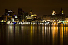 Liverpool Waterfront (David Chennell - DavidC.Photography) Tags: reflection liverpool cityscape pierhead merseyside