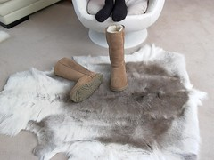 Dirty Uggs on the Fur Rug - Boots Off the Couch (Uggling) Tags: feet socks fur reindeer boot sock shoes soft skin boots dirty deer rug sole uggboots uggs animalskin deerskin furrug animalrug uggaustralia furryrug animalskinrug skinrug softrug