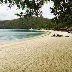 Quiet at Little Dix Bay - BVI (verplanck) Tags: bay sand cove lastday caribbean bvi virgingorda littledixbay vanishingbvi