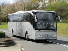 BU16 HBY (markkirk85) Tags: bus buses mercedes benz coach coaches goldline tourismo