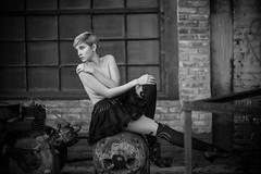Haunted (SlowhandBuzz) Tags: atlanta portrait sexy fashion georgia naked nude photography photographer boobs bare fineart topless figure form implied warrickphotocom 4044331608 christopherwarrick