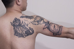 2015-16_inge_collection (patsarunink) Tags: art chicken scale tattoo illustration thai basil rooster horoscope arovana