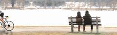 Premiere chaleur ... ( P-A) Tags: eau lac printemps personnes gens glace fondre chaleur ccn visiteurs marcheurs agrable bancspublics sportifs lacdow soleilphotos simpa soleilneige promenadeducanalrideau