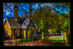 The Lodge (Kevin Walker Digital Artist) Tags: england building beautiful architecture manchester canal northwest lancashire serene hdr scenics monton canon1855mm kevinwalker canon1100d