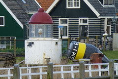 Lighthouse at Marken, Holland. (piktaker) Tags: lighthouse holland netherlands marken navigationlights