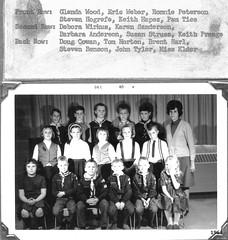 1965-12 December 65 3rd grade roster+class photo Northwestern Elementary School Miss Elder (ameshighschool) Tags: wood school classmate classmates group iowa scan tyler anderson elementaryschool elder horton benson cowan peterson weber sanderson classphoto prange roster harl 3rdgrade tice amesiowa struss hogrefe wirkus ericweber hapes ahsaa wwwameshighorg ameshighorg ameshighschoolalumniassociation ahs1975 1975ahs ameshighclassof1975