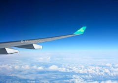 Aer Lingus                                Airbus A330                            EI-LAX (Flame1958) Tags: ireland vacation sky cloud holiday clouds flying aircraft flight wing aeroplane eire airbus winglet aerlingus a330 enroute 0211 midatlantic airbusa330 2011 eilax aerlingusa330 220211 aerlingusenroute aerlinguswinglet aerlinguswing