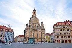 Dresden Frauenkirche (gokdeniztm) Tags: architecture germany dresden catholic roman saxony lutheran frauenkirche protestant dresdner