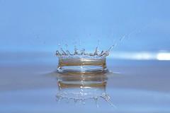 waterdroplets (dickschuitemaker) Tags: waterdruppel refelectie