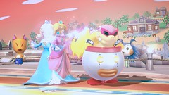 Rosalina Princess Peach Luma and Roy Koopa (brittany8895) Tags: roy for smash princess nintendo peach super u bros koopa luma wii rosalina koopalings