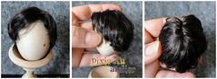 comission wig for Obitsy Head_Sailor_Mamoru (pixie Xu) Tags: head handmade wig sailor sailormoon comission mamoru  obitsu