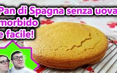 Ricetta Pan di Spagna senza uova morbido e facile! (RicetteItalia) Tags: di pan veg spagna dolci pds senza uova