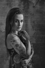DSC_4322SE (kenimcg107341) Tags: white black monochrome female scotland photo model nikon edinburgh shoot tattoos d750 robyn 24 70 lcc