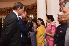 The Duke and Duchess of Cambridge in New Delhi (UK in India) Tags: bhutan monday newdelhi thedukeandduchessofcambridge britishhighcommissionertoindia sirdominicasquithkcmg 11april2016 1016april2016 royalvisitindia royalvisitbhutan