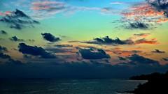 Sunrise Clouds (Sanjiban2011) Tags: morning sea sky cloud seascape nature clouds sunrise skyscape landscape dawn seaside nikon cloudy outdoor horizon earlymorning shore d750 fullframe fx tamron cloudscape goldenhour andaman portblair tamron2470