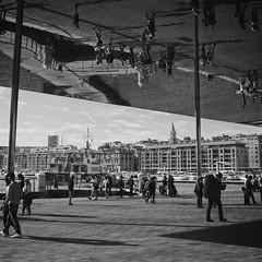 Vieux Port, Marseille (senniam2) Tags: france mirror marseille oldport vieuxport