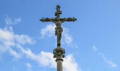 Plouzane JC (Andy.Gocher) Tags: sky france clouds brittany europe christ jesus plouzane sigma18250 canon100d andygocher