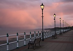 Sunset in Penarth ... Machlud yr haul ym Mhenarth (Dai Lygad) Tags: street camera uk greatbritain light sunset sky color colour beach water beautiful weather wales clouds canon bench geotagged outside outdoors photography eos evening photo seaside flickr pretty tramonto view image unitedkingdom britain streetlights stock picture explore shore promenade creativecommons april striking railings penarth  atmospheric valeofglamorgan mto bristolchannel 10000views paysdegalles attributionlicense lapuestadelsol freetouse rlu 550d  inexplore lecoucherdusoleil attributionlicence jeremysegrott dailygad wirsh