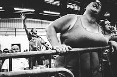 R0035029 (G. L. Brown) Tags: blackandwhite nashville tennessee wrestling streetphotography wrestler bnw documentaryphotography