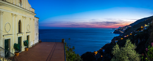 Sunset in Conca dei Marini - Amalfi, Italy - Landscape photography