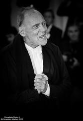 Bruno Ganz (ChinellatoPhoto) Tags: venice portrait cinema movie actress actor director venezia ritratto attore attrice regista venicefilmfestival mostradelcinemadivenezia