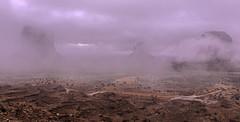 As the storm passes: Monument Valley (desimage) Tags: arizona usa mist storm fog monumentvalley arizone desertsoutwest desimage
