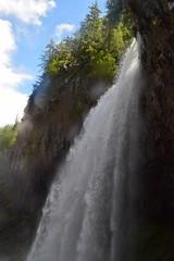 Cascading Tamanawas Falls (Catgirrrl) Tags: water oregon hike april mounthood 2016 tamanawasfalls