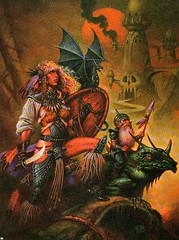 Ranger (Count_Strad) Tags: game art artwork dragons adventure cover add rpg dd module dungeons tsr