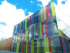 Biblioteca Hospital Rio Hortega (Joluplar) Tags: espaa hospital spain arquitectura ciudad paisaje valladolid escultura sillas fz200