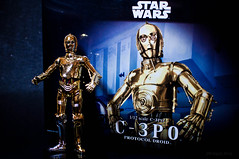 C3P0 box (Malasad0) Tags: scale toy star robot model plastic wars android droid c3po bandai protocol