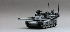 M1A3 Abrams 2016 (Andrew Somers) Tags: tank lego m1 abrams moc