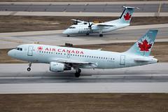 Air Canada Airbus A319 C-FZUJ (atcogl - ATC @ YYZ) Tags: toronto ontario canada plane airplane aircraft jet aeroplane airbus rotation aca ac flugzeug takeoff airliner avion pearson yyz rotate aircanada a319 staralliance cyyz cfzuj