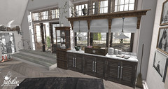 my kitchen (Luna Jubilee / !bang poses) Tags: house home kitchen design interior jubilee secondlife decor decorate
